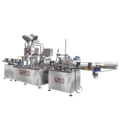 ADK 321  Otomatik Şalgam Dolum Kapaklama Etiketleme Otomatik Shrink Makinası