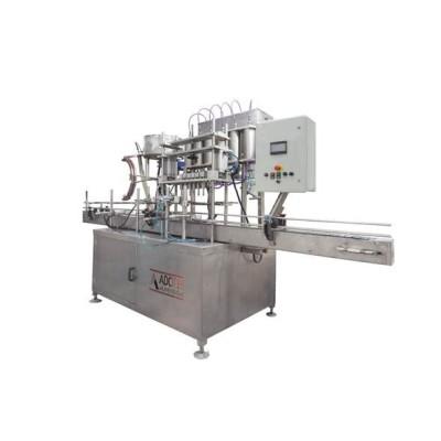 ADK 304 Ön Dolumlu Sıvı Dolum Makinası Kapaklama ve Etiketleme